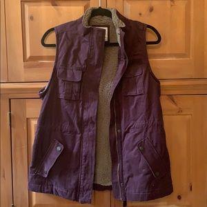 Sonoma Sherpa vest!!